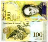VENEZUELA 100.000 bolivares 2017 - 2018 - UNC
