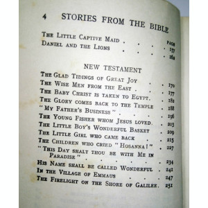 BIBLIE VECHE -STORIES FROM THE BIBLE - LB ENGLEZA