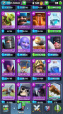 Cont Clash Royale 4300 + toate cartile, Supercell