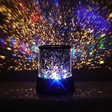 Lampa proiector LED RGB, efect cer instelat, 2 moduri iluminare, 11.5 cm