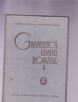 GRAMATICA LIMBII ROMANE VOL 1 foto