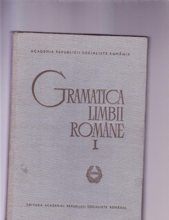 GRAMATICA LIMBII ROMANE VOL 1