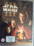 STAR WARS III: REVENGE OF THE SITH  ( DUBLU DVD ) - FILM DVD ORIGINAL, Engleza, FOX