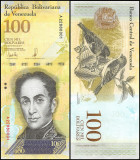 !!!  VENEZUELA -  100.000  BOLIVARES  13 XII 2017  -  P 100 b  - UNC
