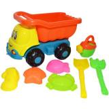 Camion cu accesorii pentru nisip incluse