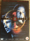 THE X FILES 1 - THE COMPLETE FIRST SEASON - FILM DVD ORIGINAL  , 6 DISC, Engleza, FOX