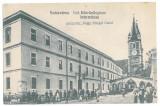 2698 - ORASTIE, Hunedoara, Romania, Market - old postcard - unused, Necirculata, Printata