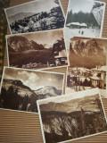 Vederi vechi Romania-Bucegi (vezi descrierea), Ambele, Fotografie, Romania de la 1950