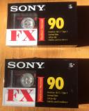 SONY FX I - 90 MINUTE  - LOT 2 CASETE AUDIO SIGILATE