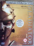 GLADIATOR  ( 2000 )  - FILM DVD ORIGINAL - Extended  Special Edition , 3 DISC, Engleza, universal pictures