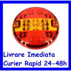 Lampa Stop CAMION Remorca Rulota TIR 12V - 24V  pe  LED SMD AL-TCT-5050