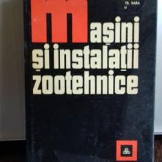MASINI SI INSTALATII ZOOTEHNICE M. STANCIULESCU