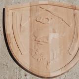 Panoplie, Tablou vanatoare 35x35 cm culoare finisaj la comanda