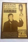 REVISTA SPORT - nr 2/1987, Steaua a castigat supercupa