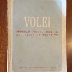 VOLEI Teoria, practica, jocuri ajutatoare (1953)