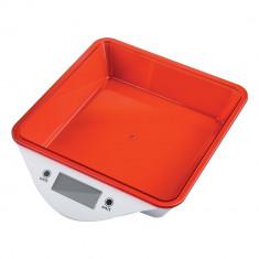 Cantar de bucatarie digital ZEPHYR ZP 1651 LS, 5kg, LCD ecran, Baterii incluse, Rosi