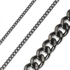 Lanț negru din oțel inoxidabil