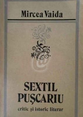 Sextil Puscariu - critic si istoric literar foto