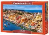 Puzzle Marina Corricella - Italia, 1500 piese, castorland