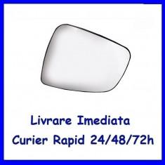 Sticla oglinda exterior pe stanga Dacia Sandero 1 2008-2012 incalzita 6001549716