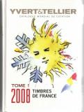 Catalogue Mondial de cotation Tome 1 2008 Timbres Yvert&Tellier cartonata