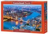 Puzzle Vedere de sus a Londrei, 1000 piese, castorland