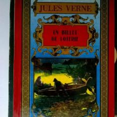 Jules Verne - Un billet de loterie (Lb. Franceza)