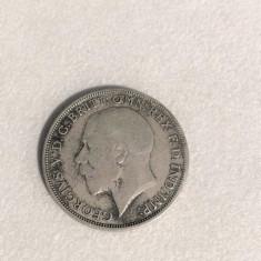 Moneda Argint 1 FLORIN ANGLIA 1921