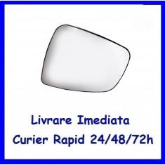 Sticla oglinda exterior pe stanga DACIA DUSTER 2010-2016  incalzita 6001549716