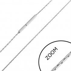 Lanț oțel inoxidabil cu linii scurte înguste, 0,8 mm