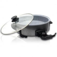 Tigaie si tava electrica multifunctionala ZEPHYR ZP 1010 ADM, 30 cm, 1500W, acoperire ceramica