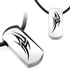 Colie șnur din cauciuc - simbol ilustrativ din oțel