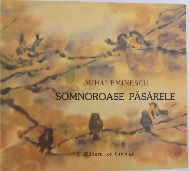 Somnoroase Pasarele De Mihai Eminescu Ilustratii De Ileana
