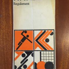 Federatia Romana de Handbal - Handbal Regulament (1978)