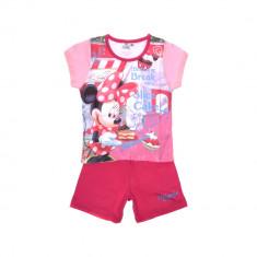 Pijama fete Minnie Mouse Shopping Break fucsia