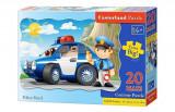 Puzzle maxi Patrula de politie, 20 piese, castorland