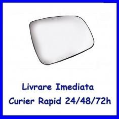 Sticla oglinda exterior pe Dreapta DACIA DUSTER 2010-2016  incalzita 6001549717