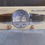 Pick-Up Lenco TT-28C, Design Retro, Tuner AM/FM, Boxe incorporate