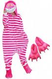PJM91-552 Set pijama kigurumi + papuci de casa, M, S/M