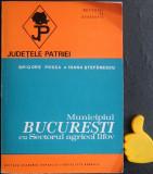 Municipiul Bucuresti cu Sectorul Agricol Ilfov Grigore Posea Ioana Stefanescu