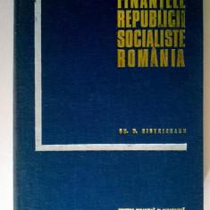 Gh. D. Bistriceanu - Finantele Republicii Socialiste Romania