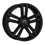 Jante AUDI A1 SPORTBACK 6J x 15 Inch 5X100 et38 - Mak Sachsen W Mat Black - pret / buc, 6, 5