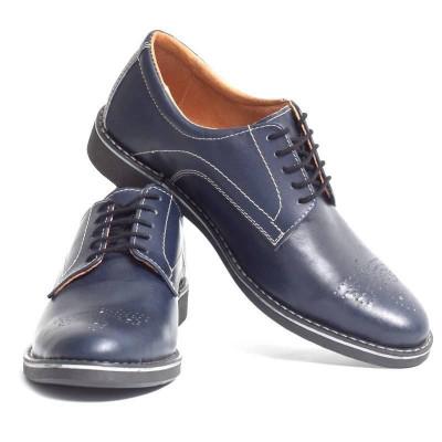 Pantofi barbati eleganti din piele naturala VIC570 foto