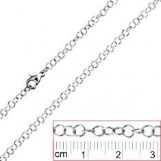 Lanț oțel inoxidabil - zale simple rotunde