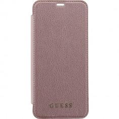 Husa Tip Carte Book Flip Guess Samsung S8 Pink