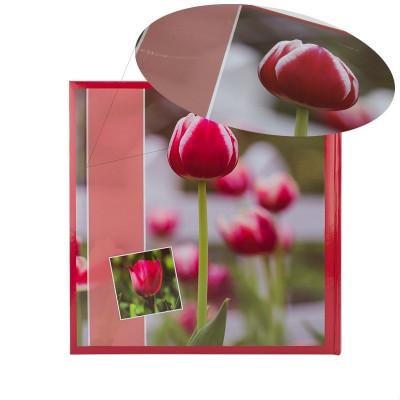 Album Red Tulip, 500 fotografii 10x15, buzunare slip-in, RESIGILAT foto