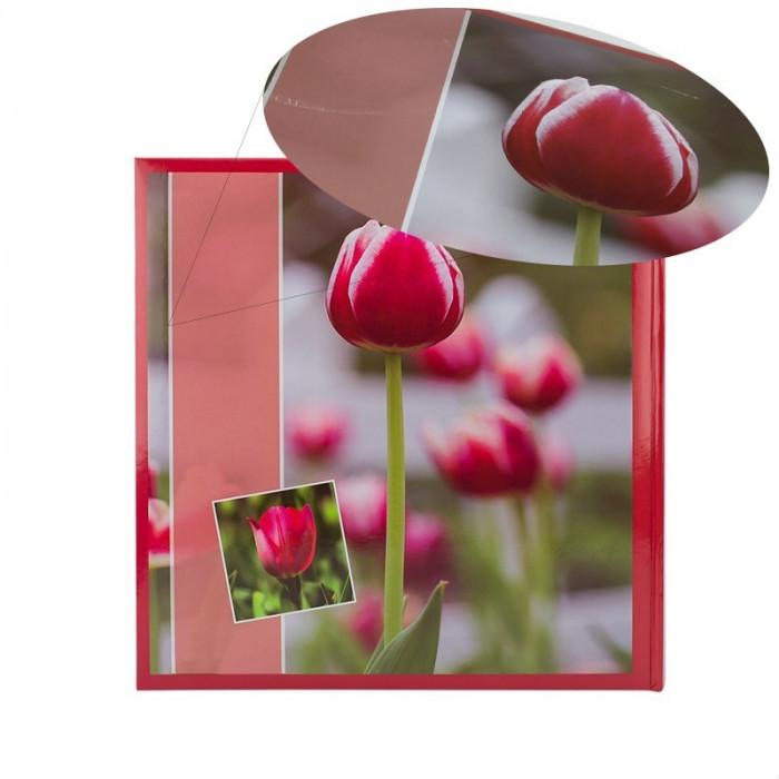 Album Red Tulip, 500 fotografii 10x15, buzunare slip-in, RESIGILAT