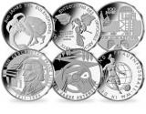 Germania 20 monede 10 euro 2011-2015 Cu-Ni UNC in capsula - la alegere vezi foto, Europa, Cupru-Nichel