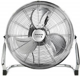 Ventilator de podea Taurus SIROCCO 16 Oscillanting, 60 W, 41 cm, Debit: 94 mc/min, 3 viteze (Inox)