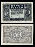UNGARIA BANCNOTA DE 50 FILLER 1920 NECIRCULATA UNC